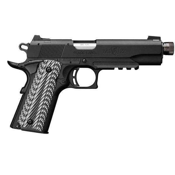Black Label Suppressor-Ready .22 LR Pistol