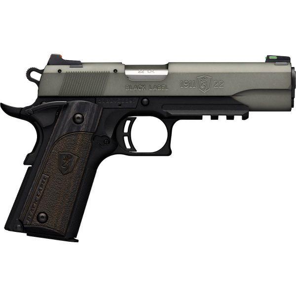.22 LR Semiautomatic Pistol