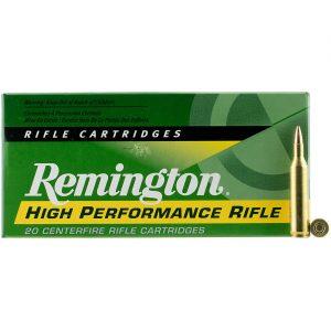 .17 Remington 25-Grain ammunition