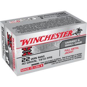 Winchester Super-X .22 40-grain ammunition